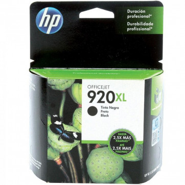 HP 920 XL Preto CD975AL