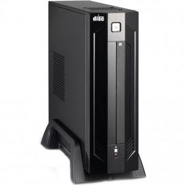 Gabinete Mini ITX GI-9D89 KMex PD200 Preto Black Piano