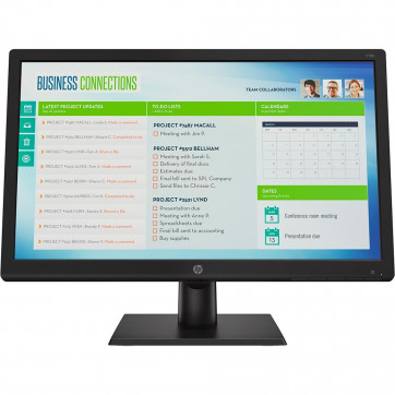 Monitor HP 18,5'' Vesa Widescreen VGA LED 1366 x 768 2XM32AA#AC4