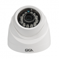 Camera Cftv Giga AHD Plus 720P Dome Lente 3,2mm 20m 10 Leds IP65 Interna