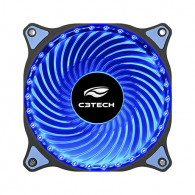 Cooler Gabinete Storm 120mm Led Azul F7-L130BL C3TECH