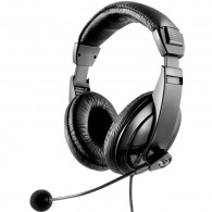 Headset Multilaser Giant Preto C/Microfone PH049
