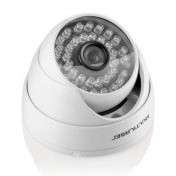 Camera Dome Multilaser AHD 960P 2.8mm 24 Leds IP65 Branca SE140