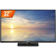 TV LED HD Panasonic 32'' HDMI, USB TC-32F400B Preta