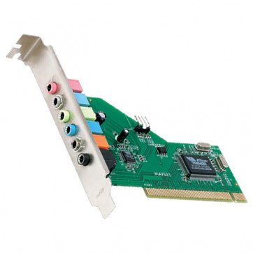 Placa de Som PCI Encore 8 Canais 24 Bits ENM232-8VIA