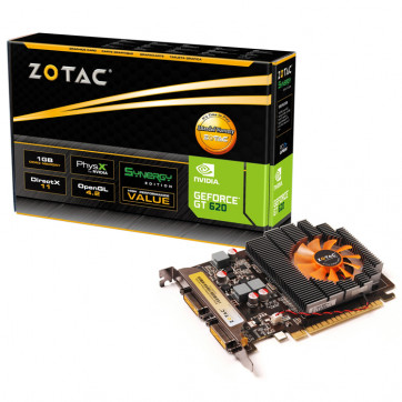 Zotac GeForce GT620 1GB DDR3 64 Bits