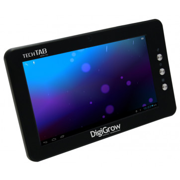 "Tablet Digigrow 7"" DWTB-7104 Preto ( 512MB / 4GB / Capacitiva Vidro / Leitor MicroSD / Android 4.0 / WiFi / 3G )"