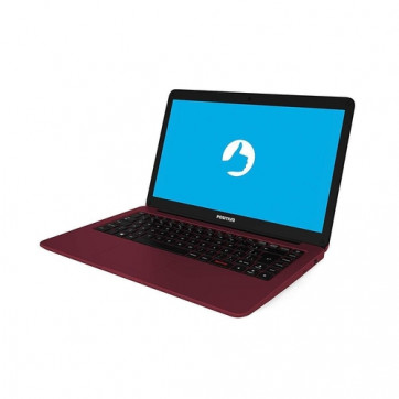 "Notebook Positivo Motion Red Intel Dual Core 4GB RAM 64GB SSD 14"" Windows 10 C464B"