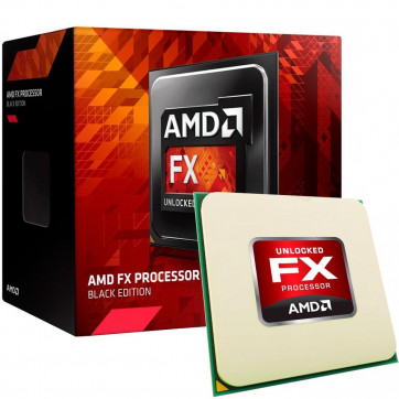 Processador AMD FX 6300 Black Edition AM3+ Box 3.5Ghz 14MB Cache - FD6300WMHKBOX