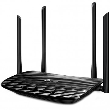 Roteador TP-Link Archer C6 AC 1200 Wireless Gigabit Dual Band 2,4/5Ghz 4 Ant Fixas 5dBi