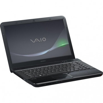 "Notebook Sony VAIO VPC-EA47FX/B PRETO (Intel i3 / 4GB DDR3 / 640GB / Blu-ray Disc / 15.6"" LED / Win 7)"